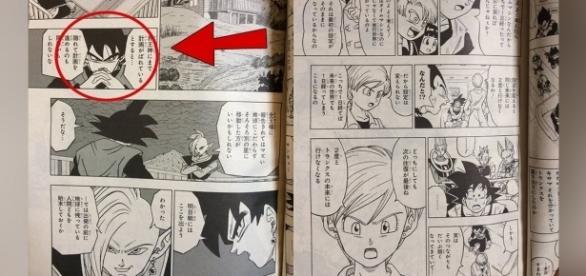 Scan con imágenes del manga filtradas.