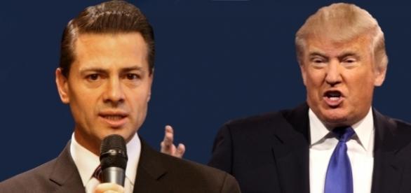 Die Präsidenten von Mexiko (li.) und den USA (re). (Fotos: UK Foreign Office / CC BY-SA 2.0 - Gage Skidmore / flickr / CC BY-SA 3.0)