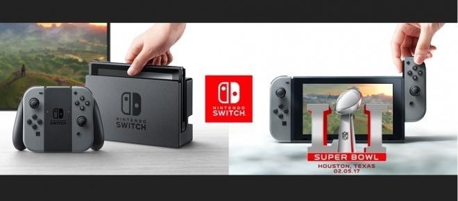 Nintendo Switch presentará vídeo promocional en Super Bowl 51