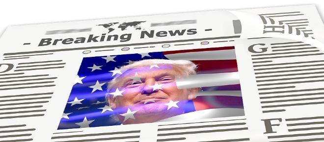 La prensa reproduce la imagen controvertida de Trump
