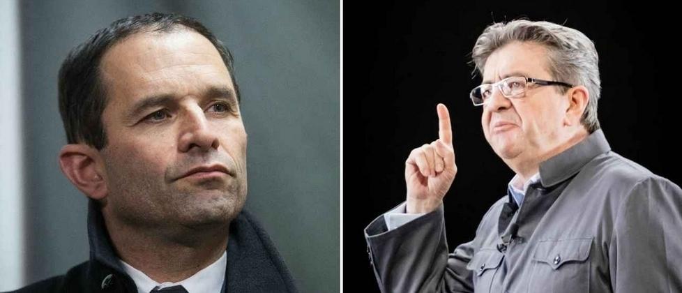 Présidentielle : Guerre froide entre Hamon et Mélenchon