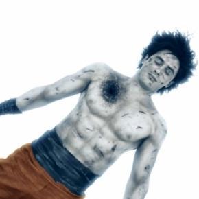 "Goku en su primera muerte ""The Legendary Warrior"""