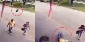 Pneu atingiu homem em Ipatinga, Minas Gerais