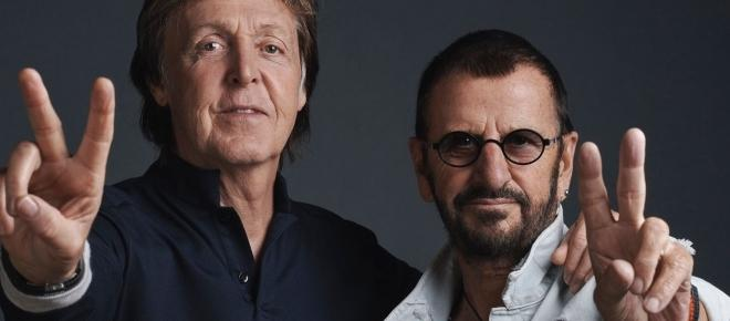 Paul McCartney et Ringo Starr réunis en studio !