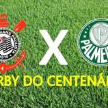 Assista Corinthians x Palmeiras ao vivo