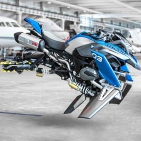 BMW And LEGO Collaboration Results In Life-Size Hover Bike Concept - psfk.com