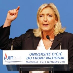 Marine Le Pen, leader del Front National.