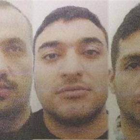 São estes os rostos dos três fugitivos do Estabelecimento Prisional de Caxias, onde esperavam julgamento em prisão preventiva por furtos e roubos