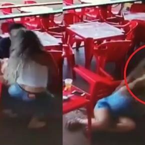 Saradona pega marido pegando outra no bar - Google