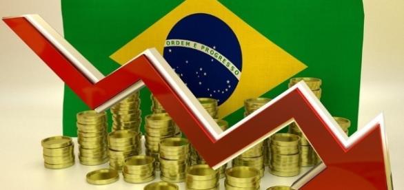 Resultado de imagem para crise economica no brasil