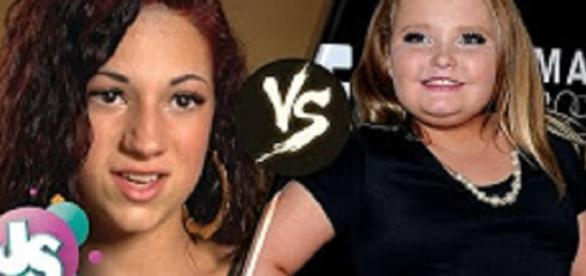 """Source: Youtube The Dr. Phil Show. """"Cash Me Outside"""" girl vs. Honey Boo Boo"""