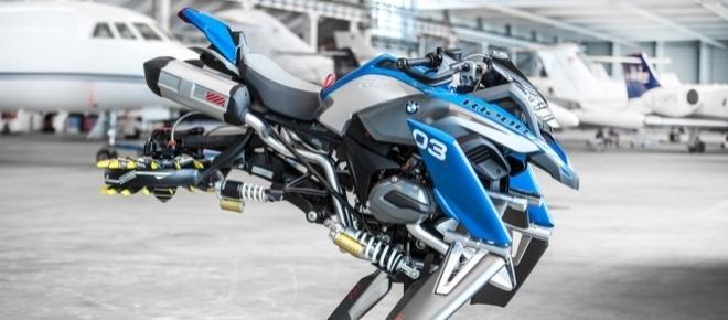 La société allemande BMW crée une moto volante