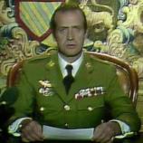 El Rey emérito en una de las apariciones en RTVE el 23F