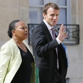 Christiane Taubira fustige les propos d'Emmanuel Macron sur la ... - rtl.fr