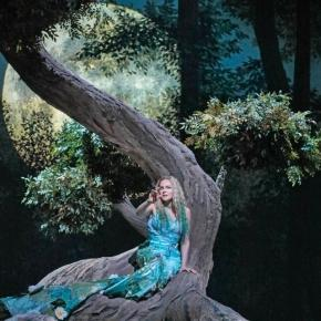Kristine Opolais in the title role of Dvořák's 'Rusalka,' which means water nymph. Photo: Ken Howard/Metropolitan Opera, used with permission.