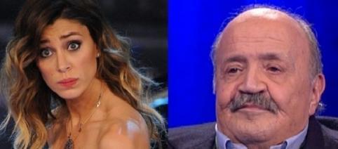 Gossip: Belen Rodriguez attaccata duramente da Maurizio Costanzo.
