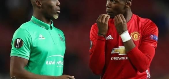 Duelo dos Irmãos Pogba, levando a melhor o francês do United.