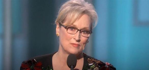 Meryl Streep's political speech during the Golden Globes - NBC News - nbcnews.com (Taken from BN library)