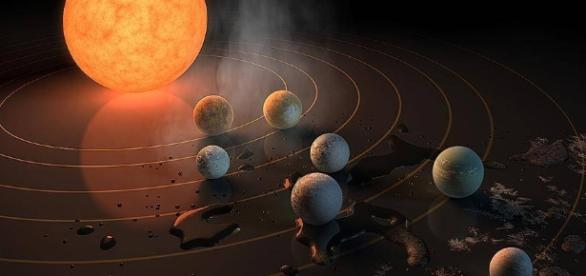 NASA discovers solar system with seven Earth-like planets ... nationalpost.com