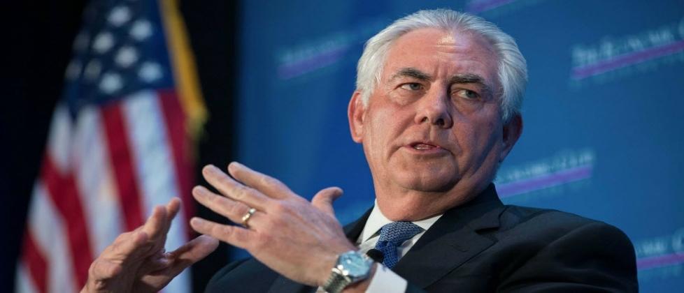 Rex Tillerson, secretario de Estado de EEUU, de visita oficial en México