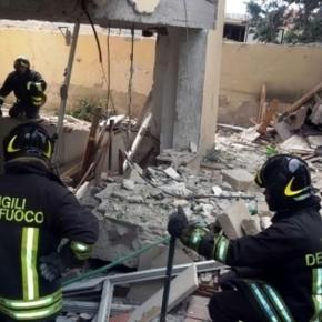 Catania, esplosa un intera palazzina