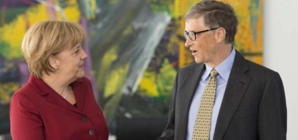 Angela Merkel empfängt Bill Gates im Kanzleramt | Foto - merkur.de
