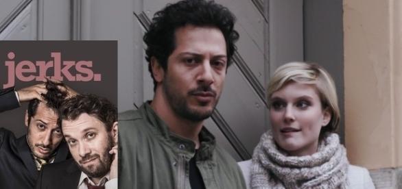 "Fahri Yardım und Kim in der Serie ""jerks."" / Fotos: Maxdome"