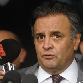 Senador Aécio Neves rebate acusações de envolvimento em esquemas de corrupção da Operação Lava Jato