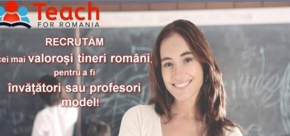 Teach for Romania - programul educațional