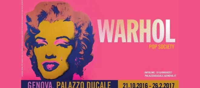 Andy Warhol: 30 anni dalla morte, Genova lo omaggia a Palazzo Ducale