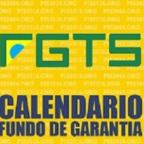 Governo Federal já liberou cronograma para saque das contas inativas do FGTS
