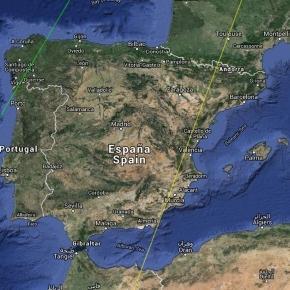 Previsión de visibilidad del Eclipse Agosto 2017 desde España