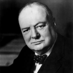 The great leader had a keen scientific mind as well / Photo via https://upload.wikimedia.org/wikipedia/commons/3/3d/Winston_Churchill_cph.3a49758.jpg
