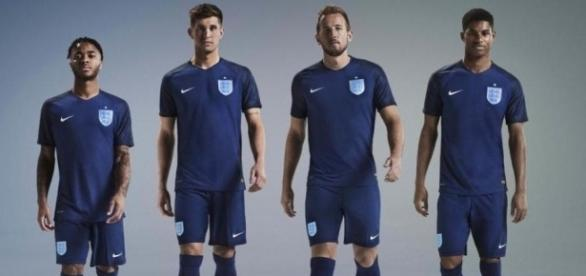 England's new blue away kit unveiled ahead of Germany friendly as ... - telegraph.co.uk