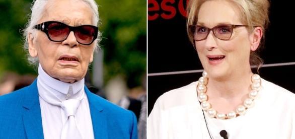 Karl Lagerfeld: Meryl Streep Wanted Oscar Dress From Brand That ... - usmagazine.com
