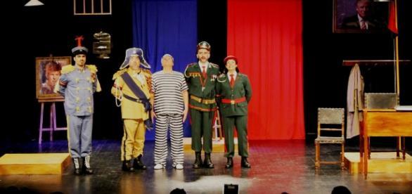 """Polícias"", de Slawomir Mrozek, pelo Grupo de Teatro GATERC"