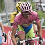 Alberto Contador al Giro 2015 - Foto Ansa-Peri