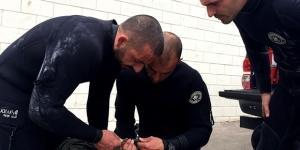 Operação esteve a cargo de uma equipa do Departamento de Mergulhadores Sapadores