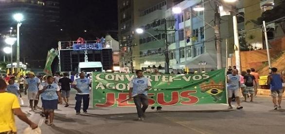 Bloco dos evangélicos agita Carnaval da Bahia