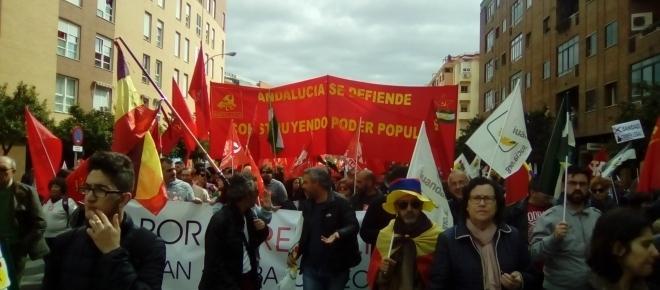 Sevilla, 28-F: Andalucía aúna en un clamor la voz de sus 8 provincias