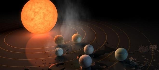 Astronomie : Découverte d'un système avec 7 exoplanètes