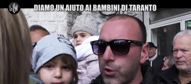 Le Iene a Taranto per i bimbi malati