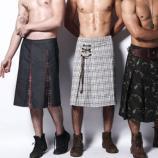 Estilista cria saias masculinas para brasileiros