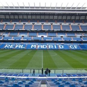 O Santiago Bernabéu é o palco do Real Madrid-Las Palmas