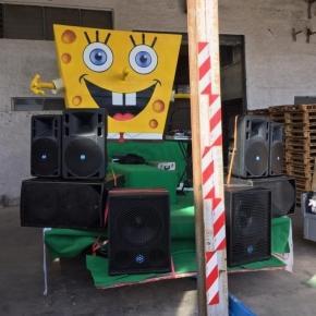 Carro del Carnevale 2017 di Polignano a Mare
