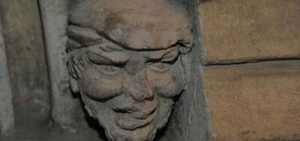 700-year-old gargoyle looks like Donald Trump (photo by Nottingham Post)