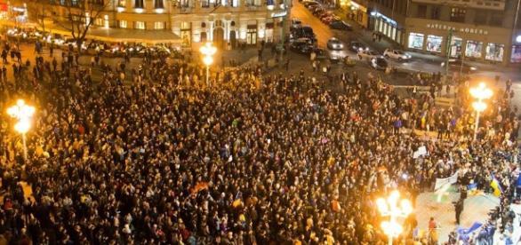 Cele mai mari manifestaţii în România după 1989