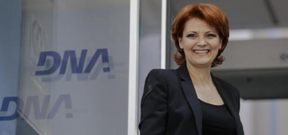 Lia Olguţa Vasilescu - ministrul Muncii şi Justiţiei Sociale
