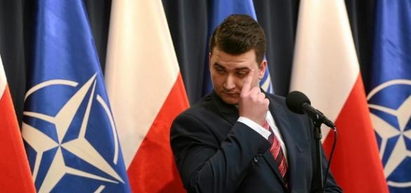 Misiewicz na bocznym torze (fot.wyborcza.pl)