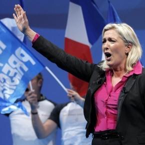 Wird sie Frankreich aus der EU, der NATO und dem Euro führen? Marine Le Pen. (Fotoverantw./URG Suisse: Blasting.News Archiv)